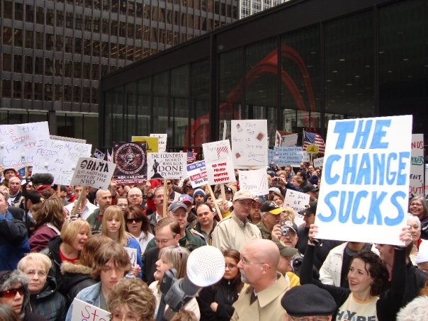 > Feb 16 - Chicago Protests Completely Ignored By Media - Photo posted in BX Daily Bugle - news and headlines | Sign in and leave a comment below!