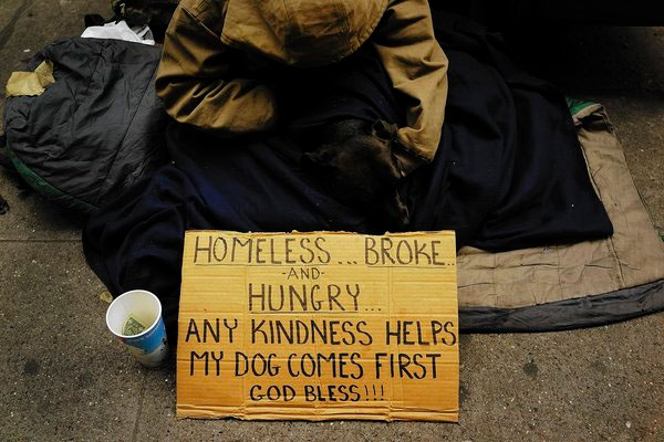 Homelessness, hunger climbing in U.S