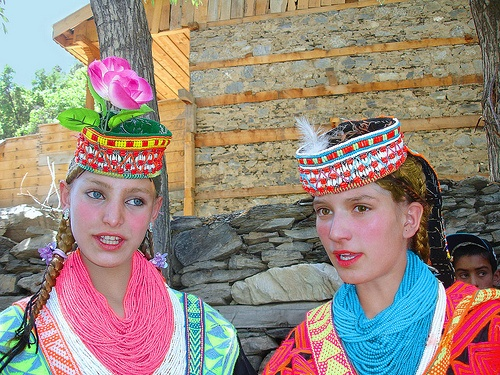 Rumored at times to be the descendants of Alexander The Great's army, the Kalash People of Northern Pakistan still retain their ancient Aryan traits.