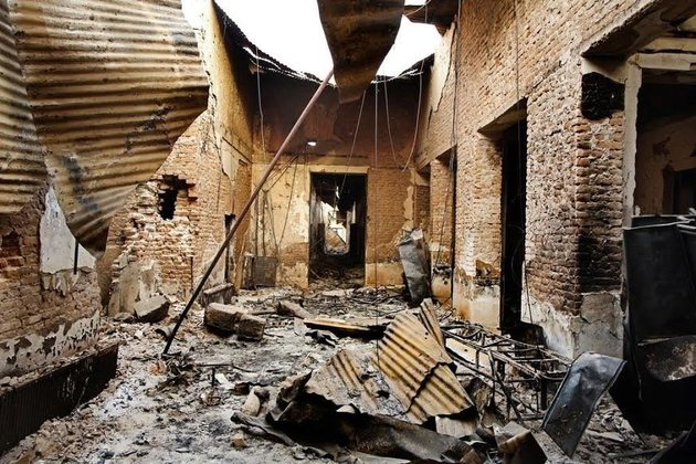 "<span class='image-component__caption' itemprop=""caption"">The interior of the MSF hospital in Kunduz a few days after the attack.</span>"