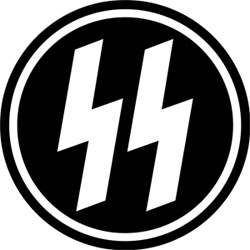 A logo for the SS, a paramilitary force that operated under the Nazi party. (photo: Marine Corps Times)