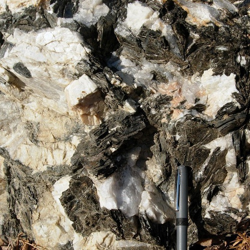 Big-grained granites
