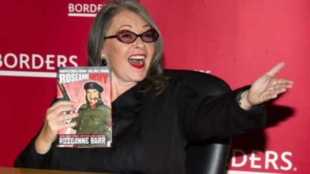 Roseanne Barr attends a signing for her book RoseanneArchy at Borders Books in New York, Thursday, Jan. 6, 2011. (AP Photo/Charles Sykes)