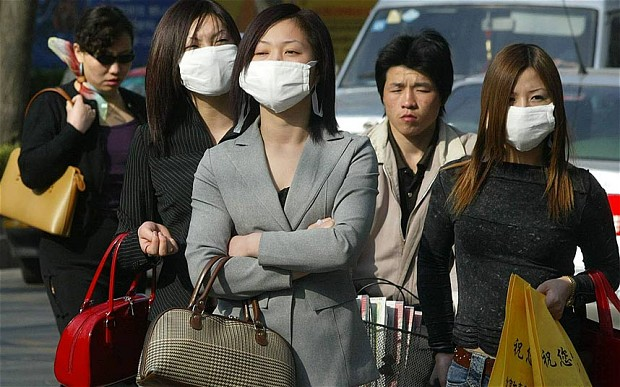 SARS, is a contagious respiratory illness that first appeared in China in November 2002