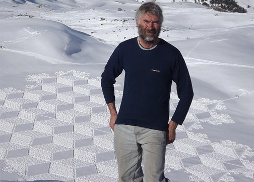simon beck Magnificent Geometric Snow Art by Simon Beck